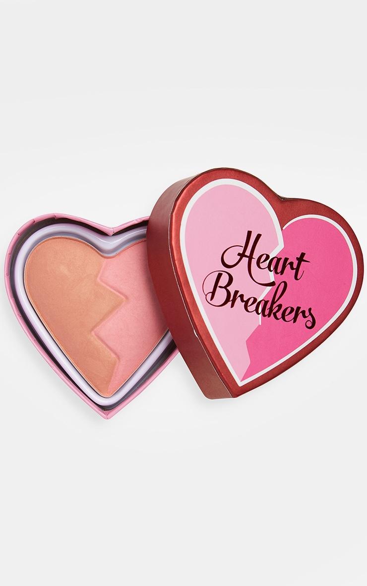 I Heart Revolution Heartbreakers Matte Blush Creative 1