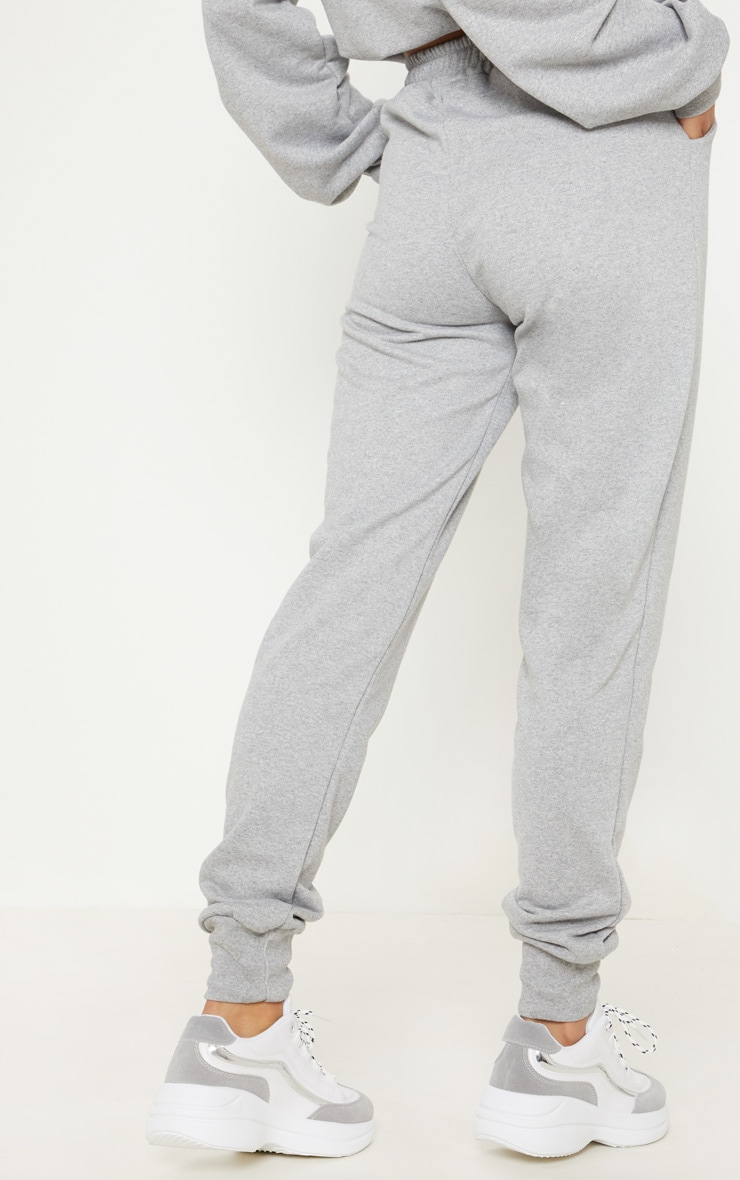 Grey Basic Gym Sweat Jogger 4