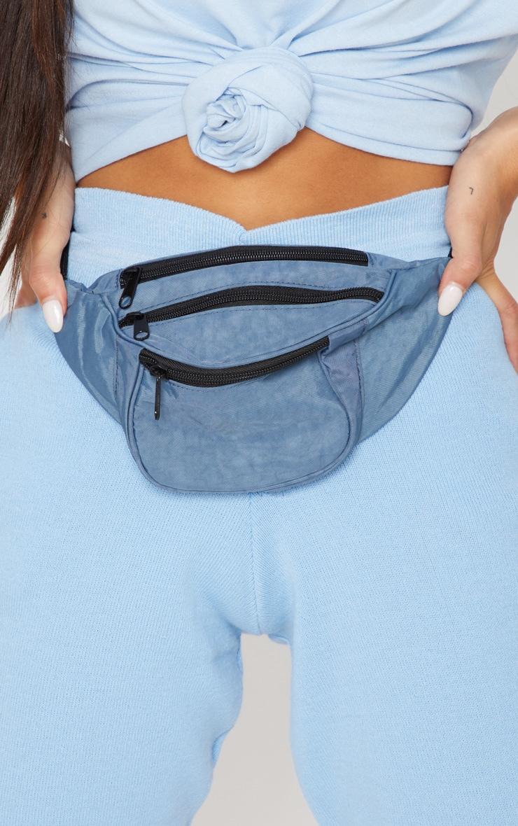 Blue Small Bum Bag 3