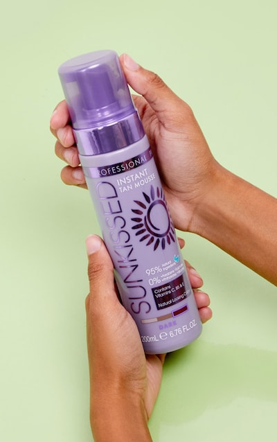Sunkissed Professional Instant Self Tan Mousse Dark