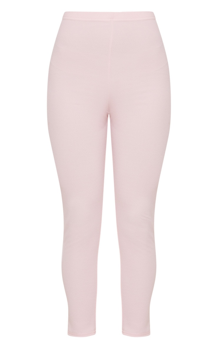 Pale Pink Cropped Trouser 3