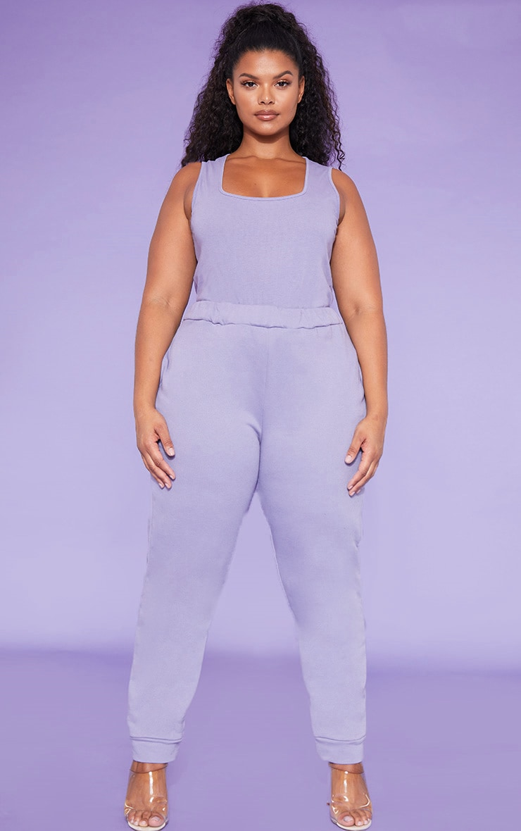 RECYCLED Plus Violet Jogger 1