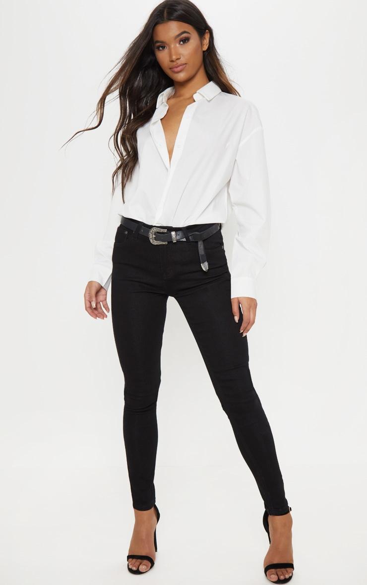 Black Skinny Fit Jean  1
