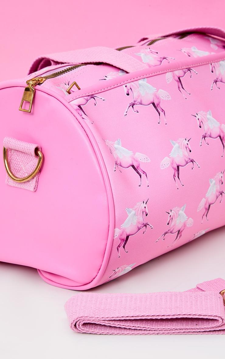PRETTYLITTLETHING Unicorn Pink Gym Bag 2