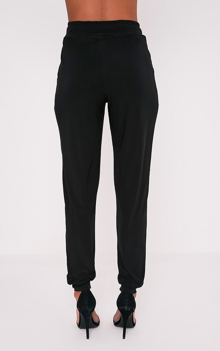 Savanna Black Slinky Joggers 5