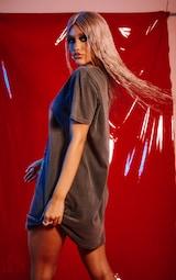 Sabrina Teenage Witch Acid Washed T Shirt Dress 3
