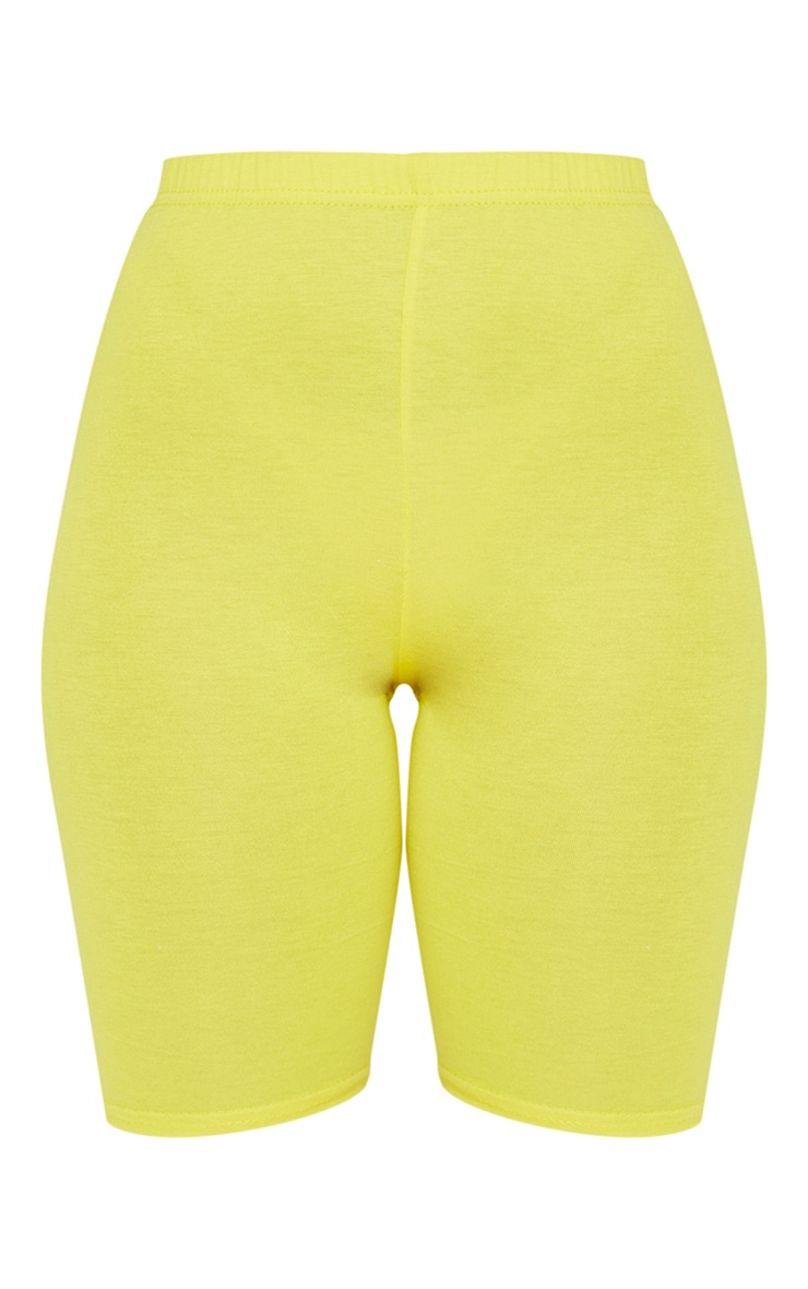 Petite Yellow Bike Short 6