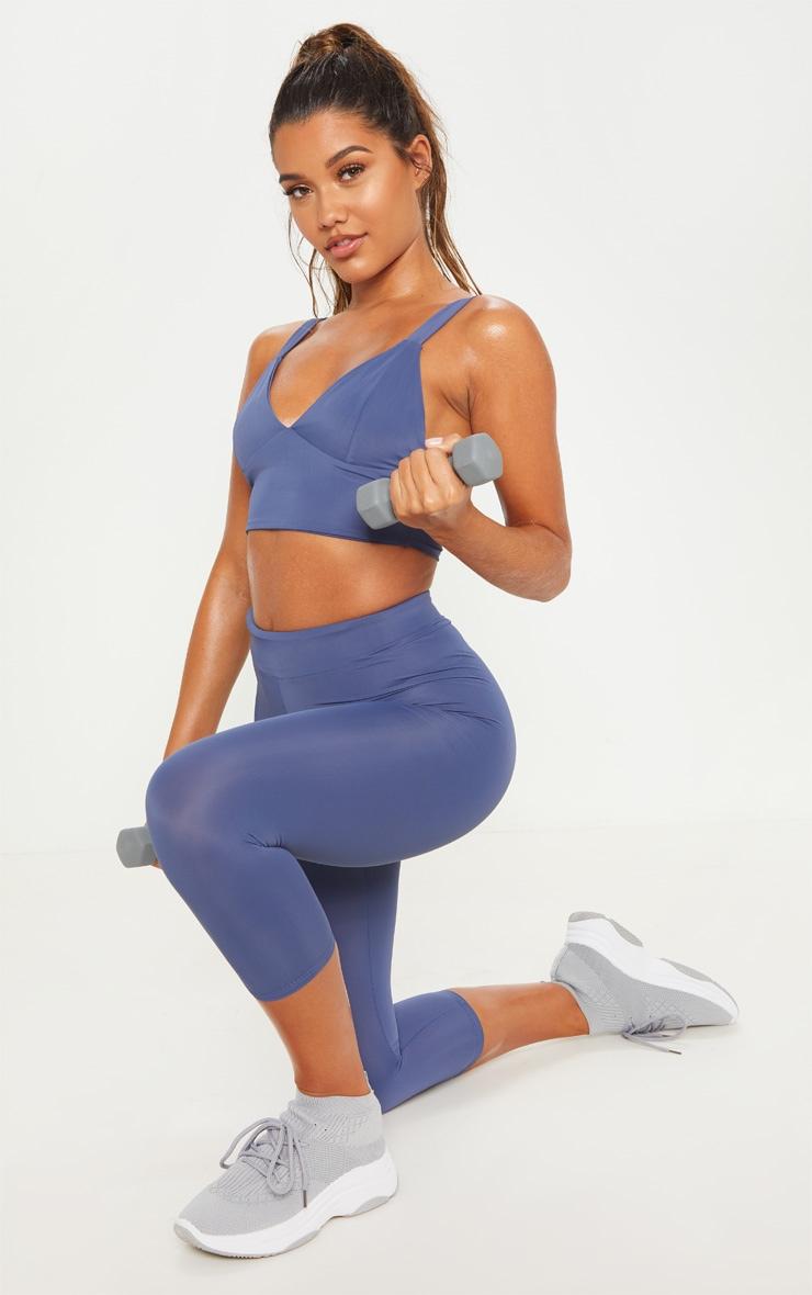 Petrol Basic 3/4 Gym Legging 1
