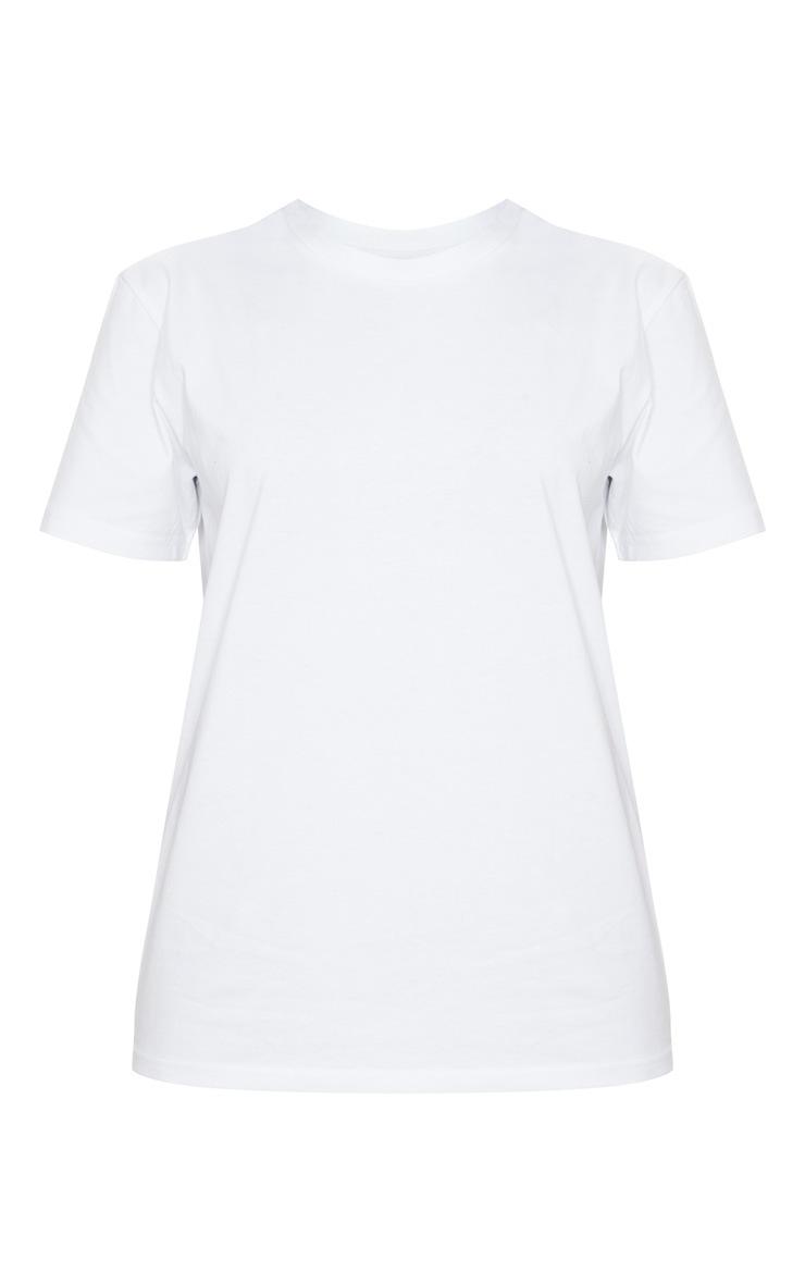 White Organic T Shirt 5
