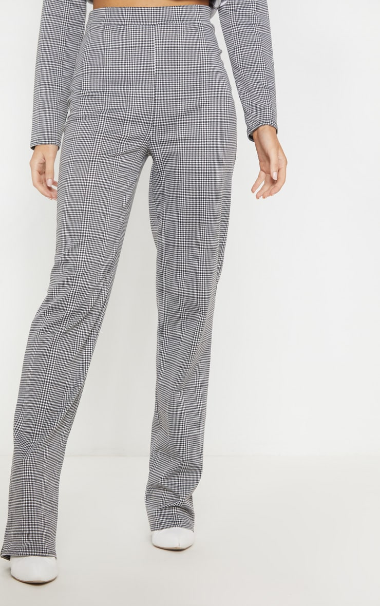 Black Checked Pants 2