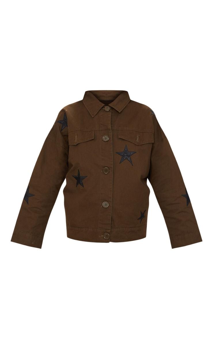 Khaki Star Utility Jacket 3