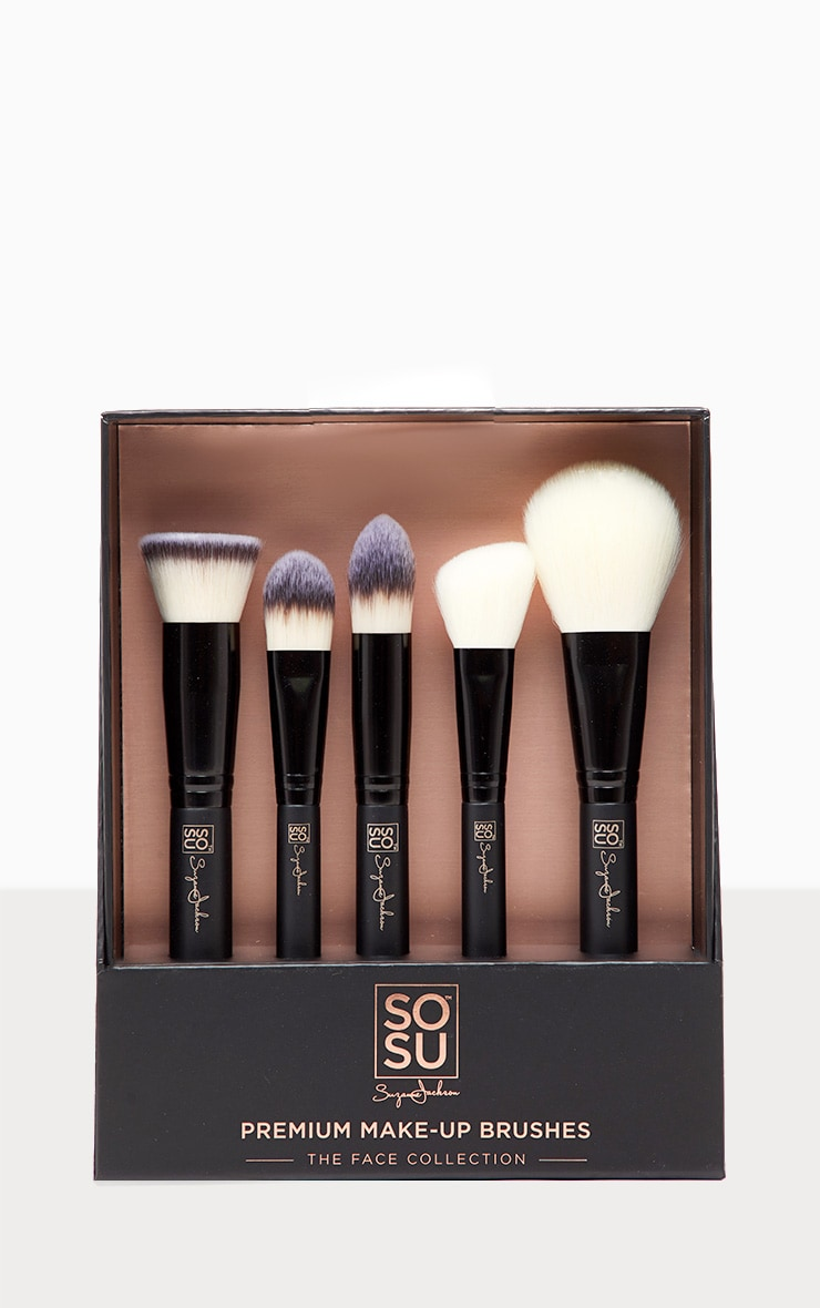 SOSUBYSJ The Face Collection 5 Piece Brush set 2