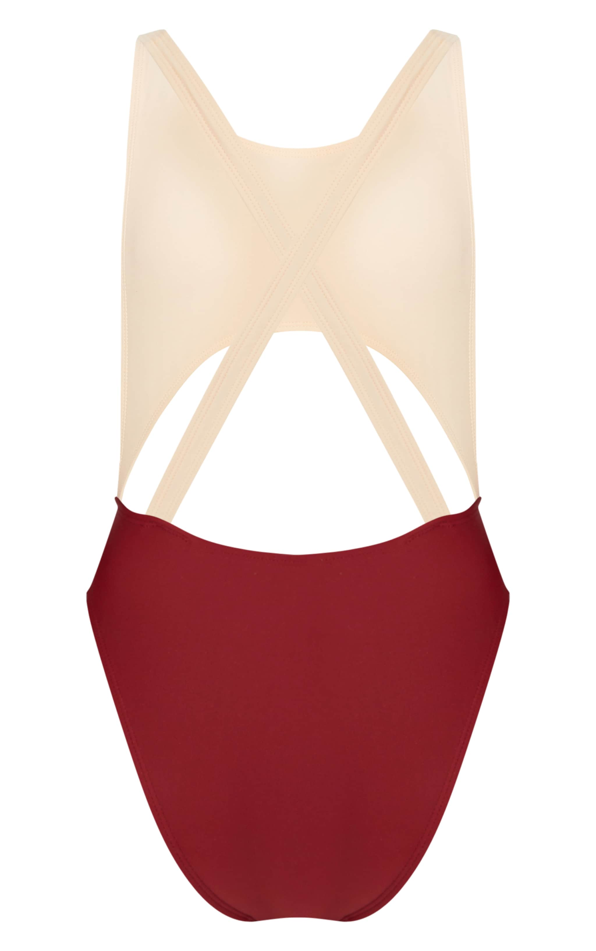 Petite Nude Cut Out Swimsuit 4