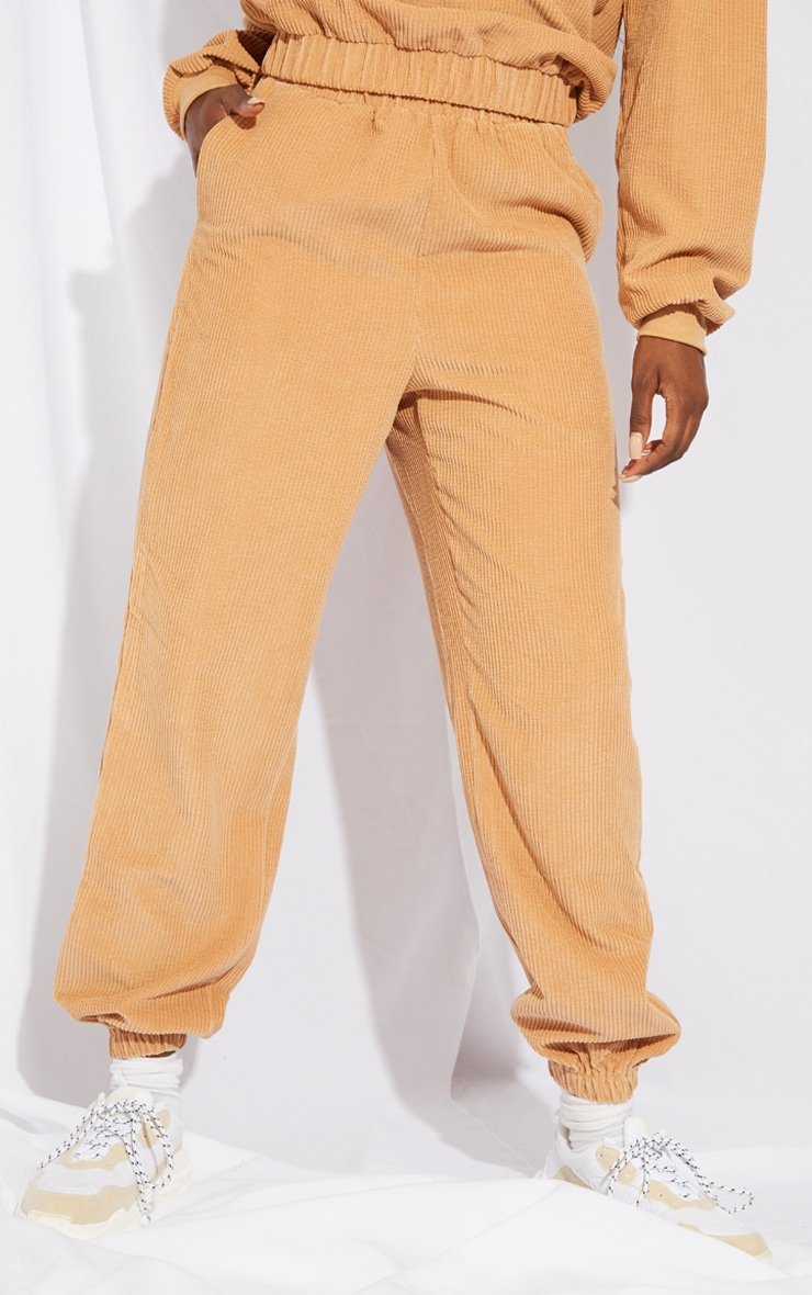 Tall Stone Oversized Cord Detail Joggers 2