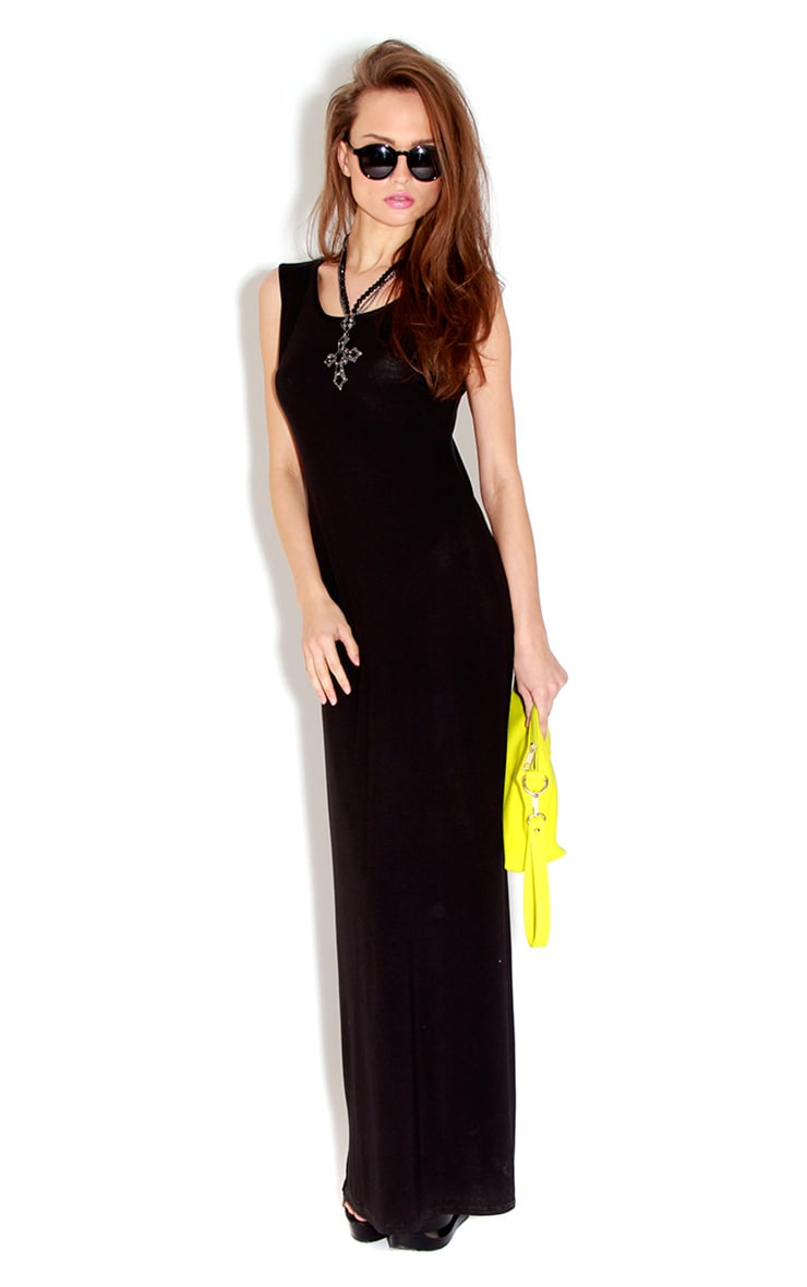 Jessie Black Maxi Dress 1