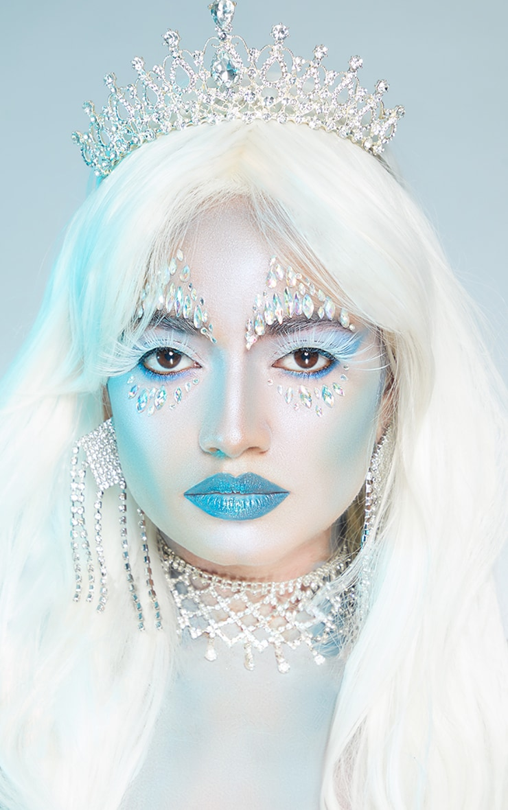 Eldora Halloween B803 White Eyelashes image 3
