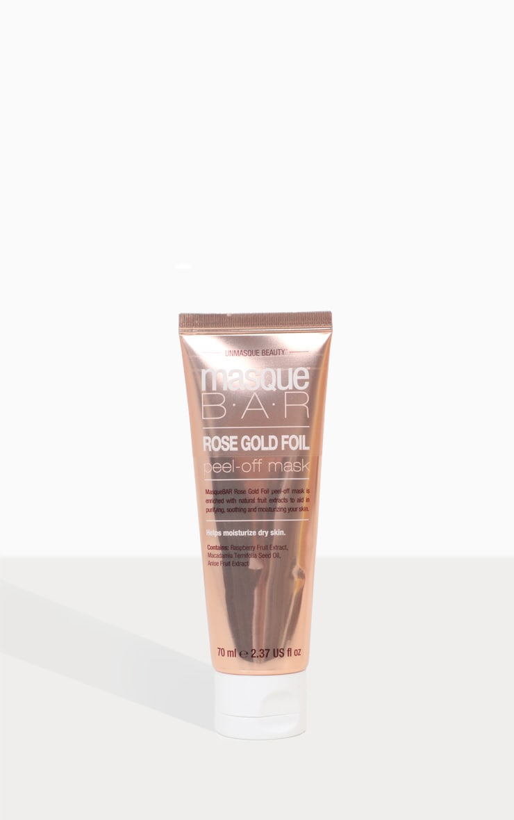 MasqueBar Rose Gold Peel Off Mask Tube 70 Ml 2