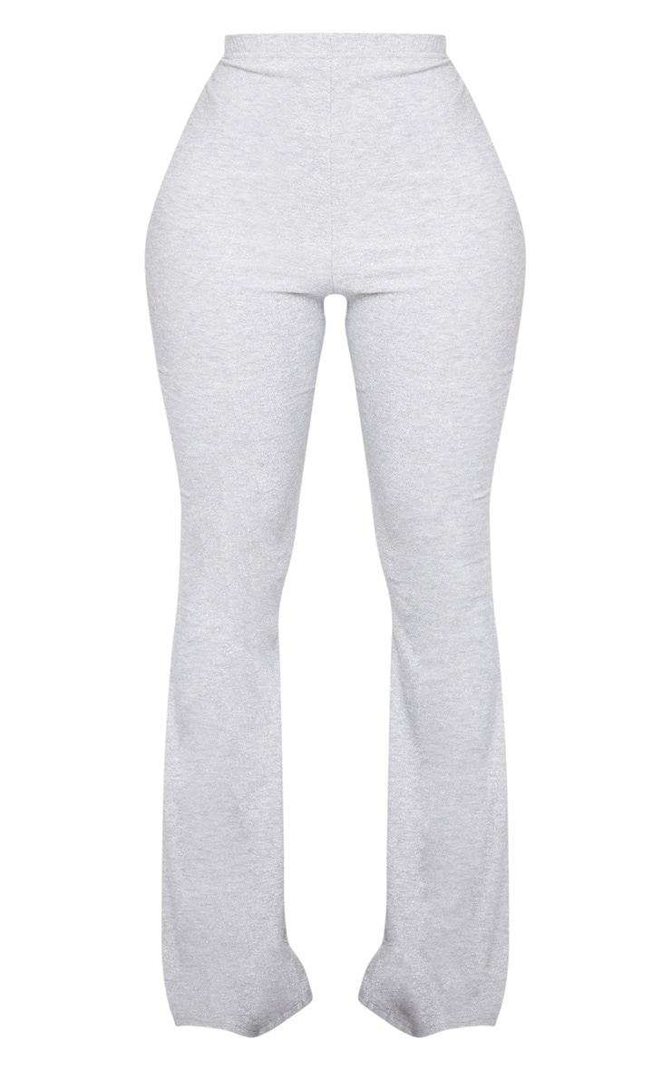 Shape Silver Glitter Flared Pants 3