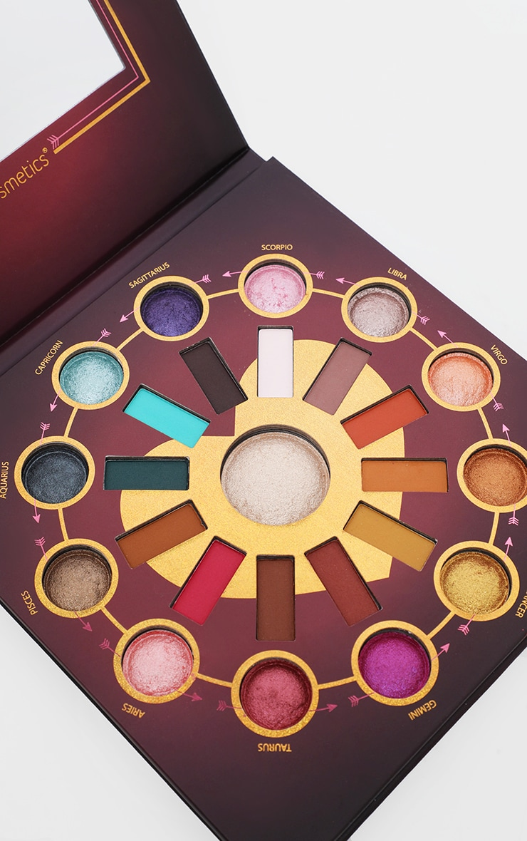 BH Cosmetics Zodiac Love Signs 25 Shade Eyeshadow and Highlighter Palette image 2