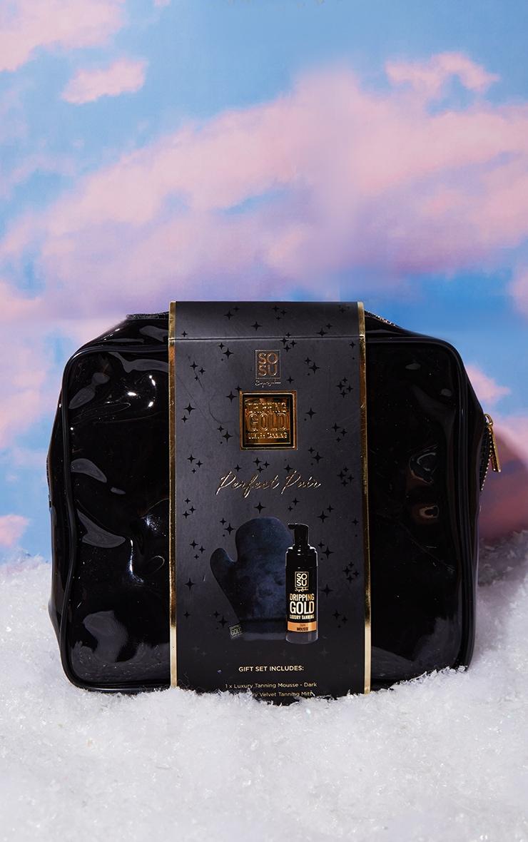SOSUBYSJ Christmas Perfect Pair Dark Mousse & Mitt & Bag 3