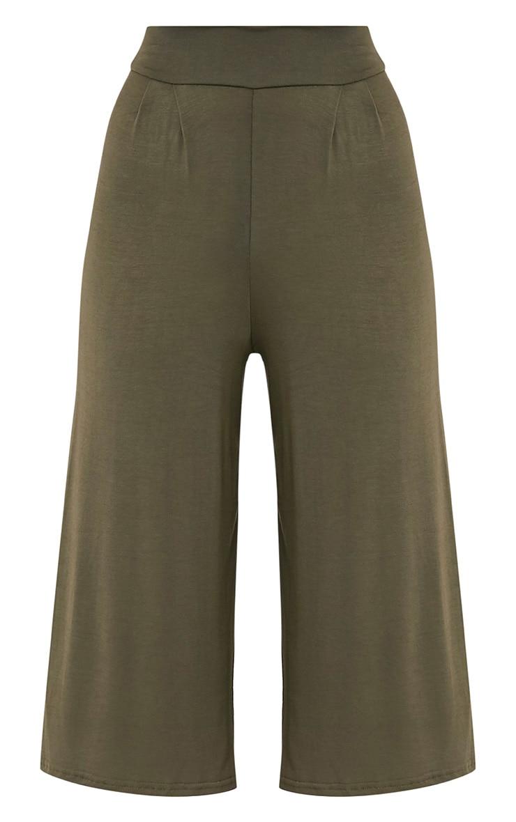 Basic jupe-culotte kaki 3
