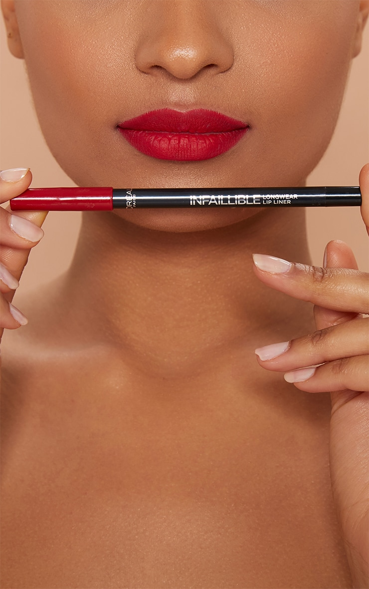 L'Oréal Paris Infallible Lip Liner Red Fiction 3