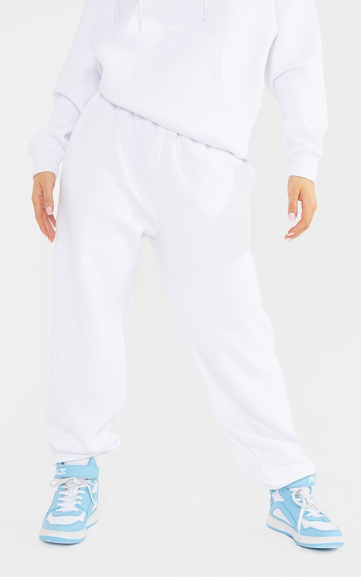 Petite White Ultimate Joggers 2