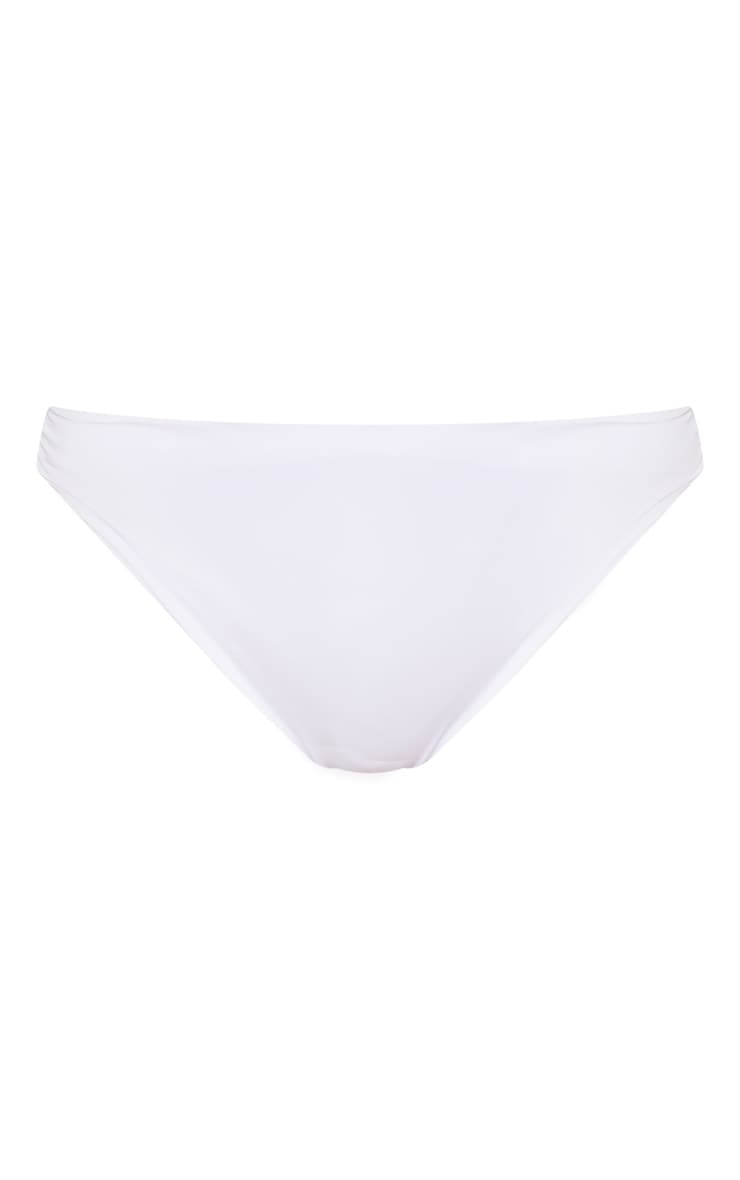 White  Mix & Match Cheeky Bum Bikini Bottom 3