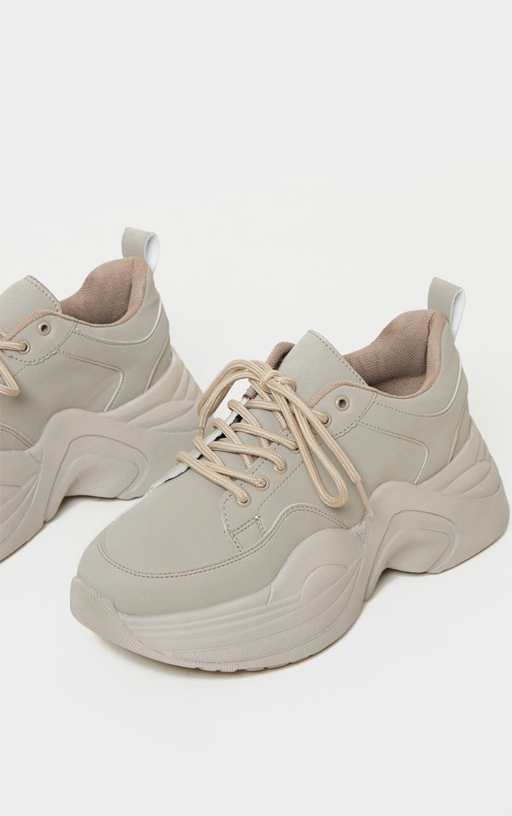 Sand Extreme Platform Sole Chunky Sneaker 4