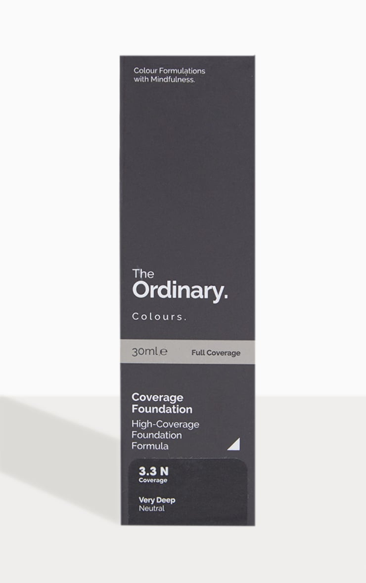 The Ordinary - Fond de teint couvrant 3.3N Intense 2