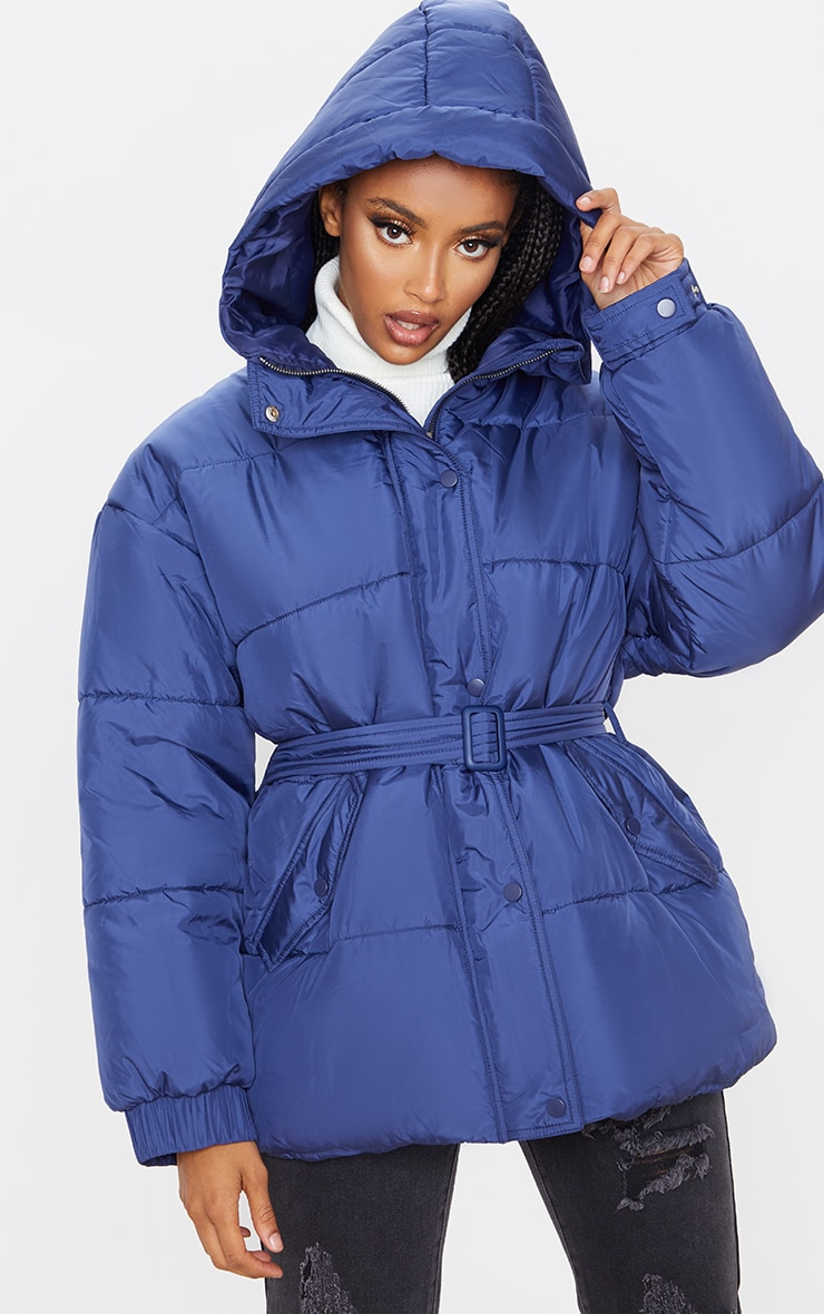 Navy Belted Puffer  1