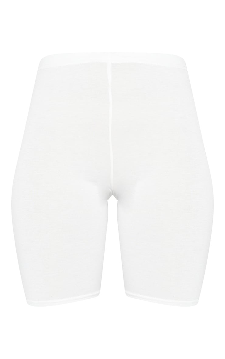 Cream Basic Bike Short 6