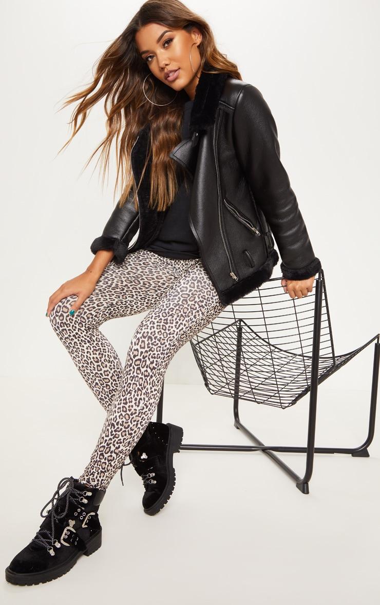 Leopard Print Soft Touch Legging