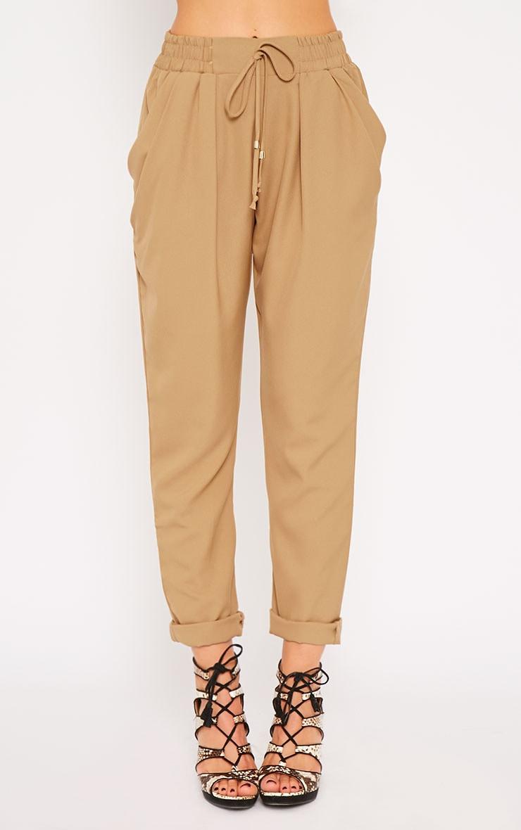 Hilda Camel Trousers 4