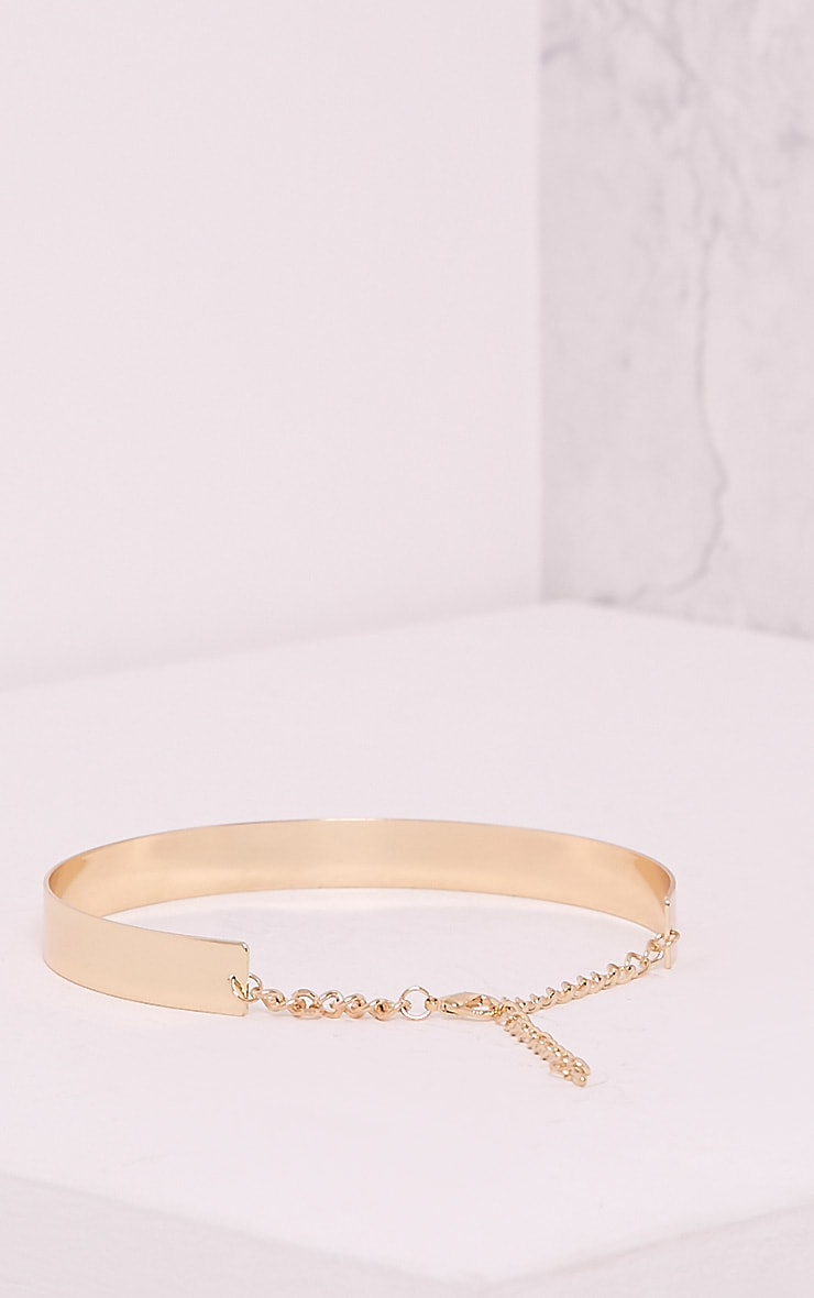 Trish Gold Thinline Metal Choker 4