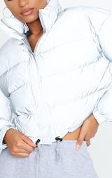 Grey Reflective Puffer Jacket 4