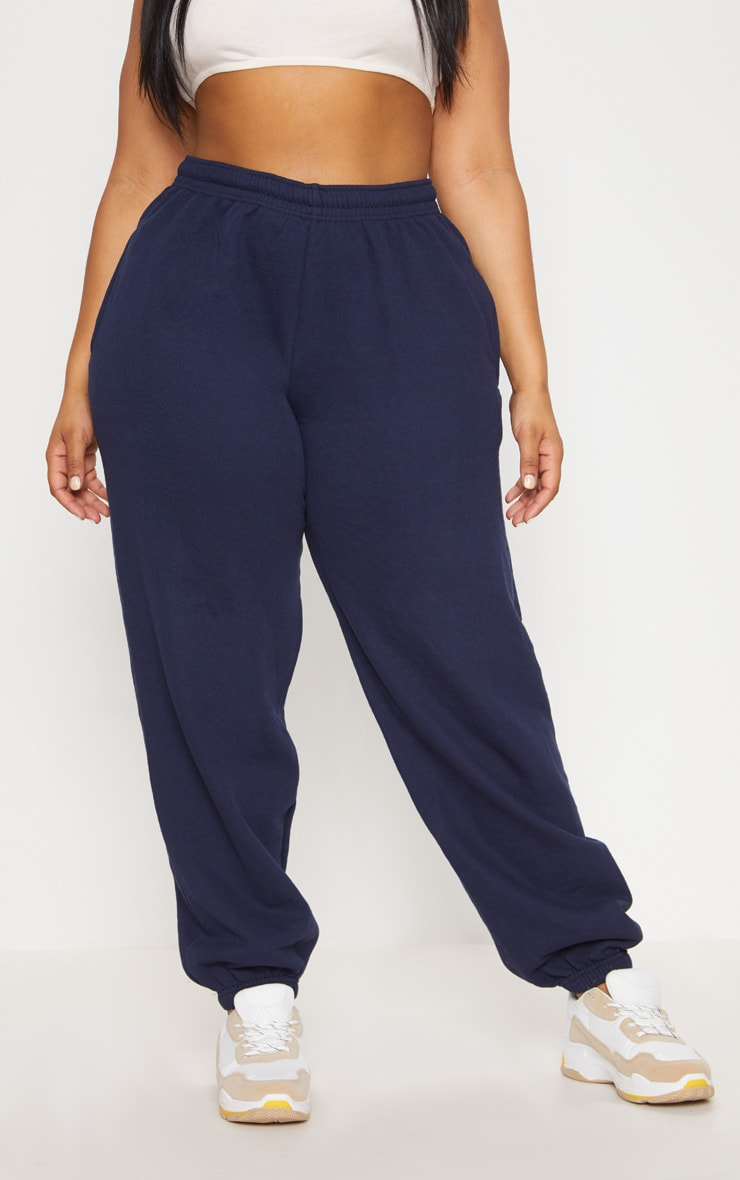 Plus Navy Casual Jogger 2