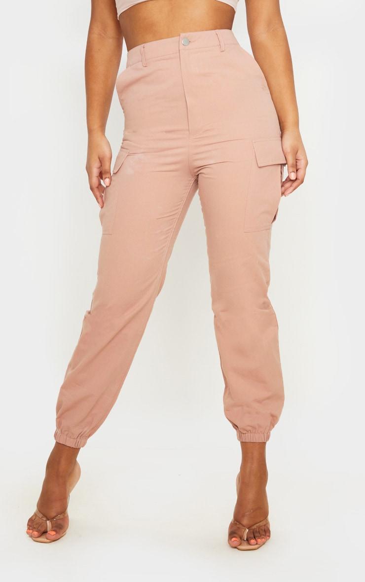 Pink Pocket Detail Cargo Pants 2