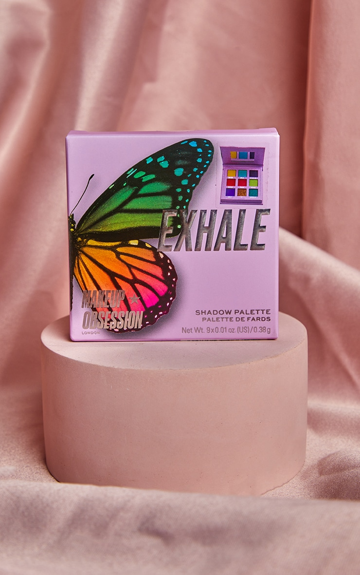 Makeup Obsession Exhale Eyeshadow Palette 2