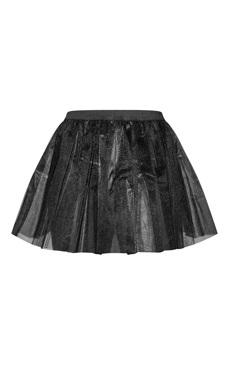 Black Basic TuTu Skirt 5
