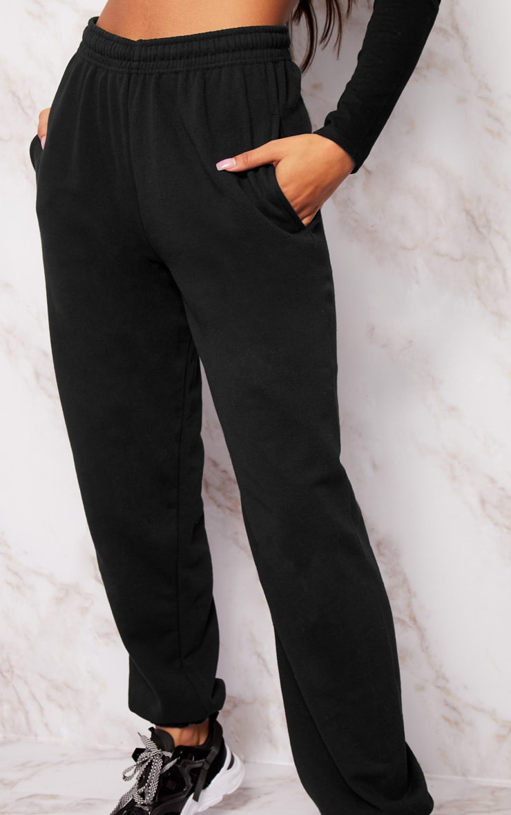 Black Casual Track Pants 5