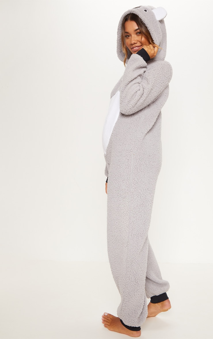 Koala Bear Grey Onesie 2