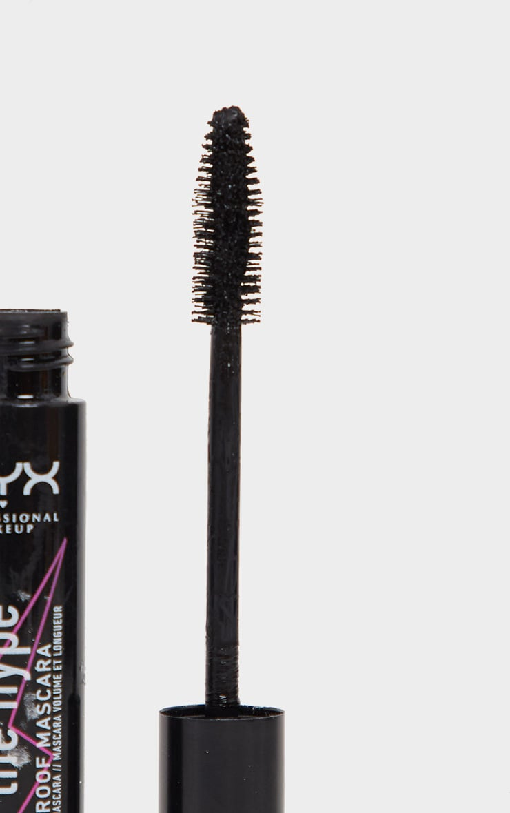 NYX PMU Worth the Hype Black Waterproof Mascara 4