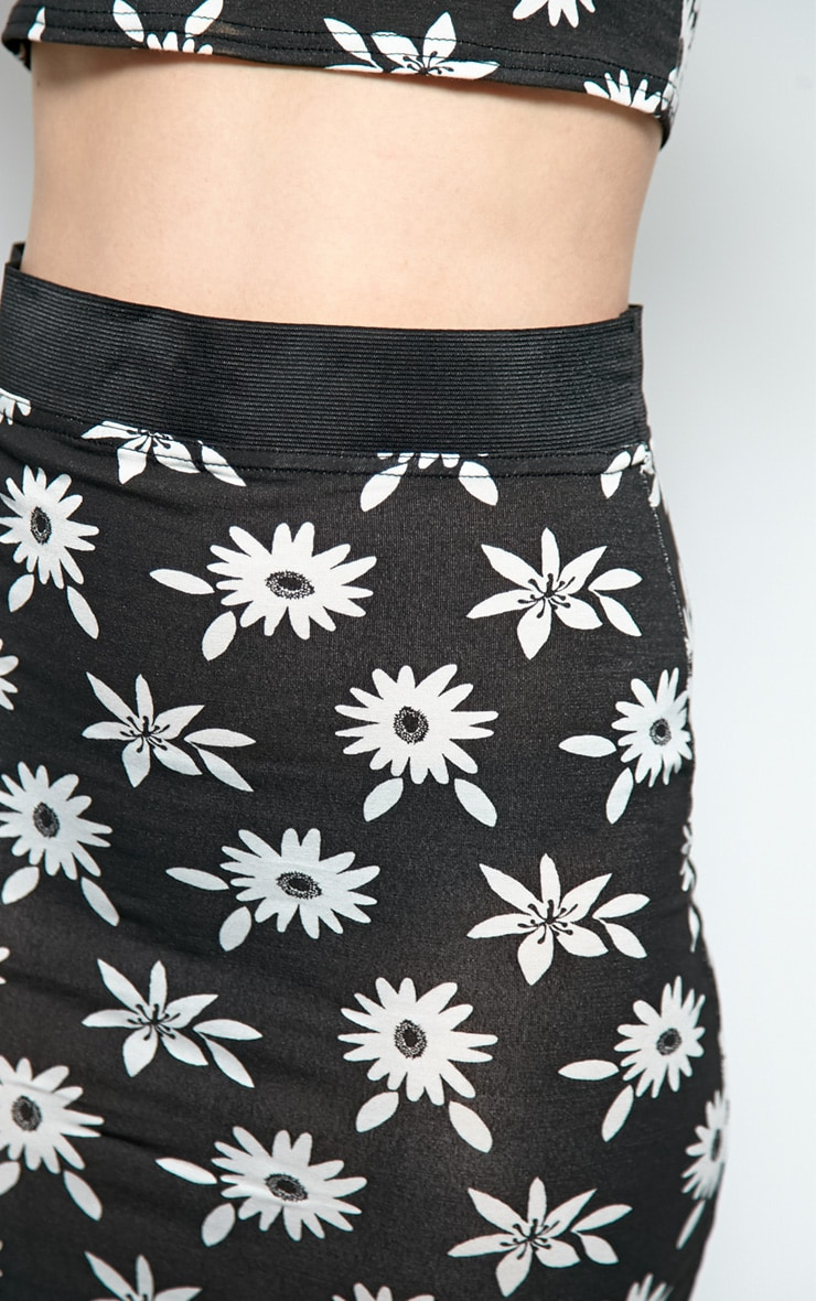 Camilla Daisy Print Midi Skirt 4