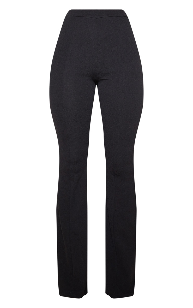 Black Flared Trouser 3