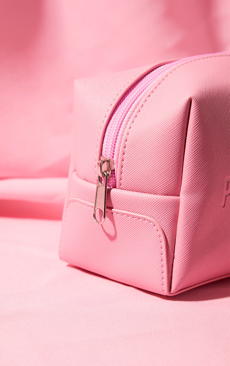 PRETTYLITTLETHING Pink Cosmetics Bag Small 3