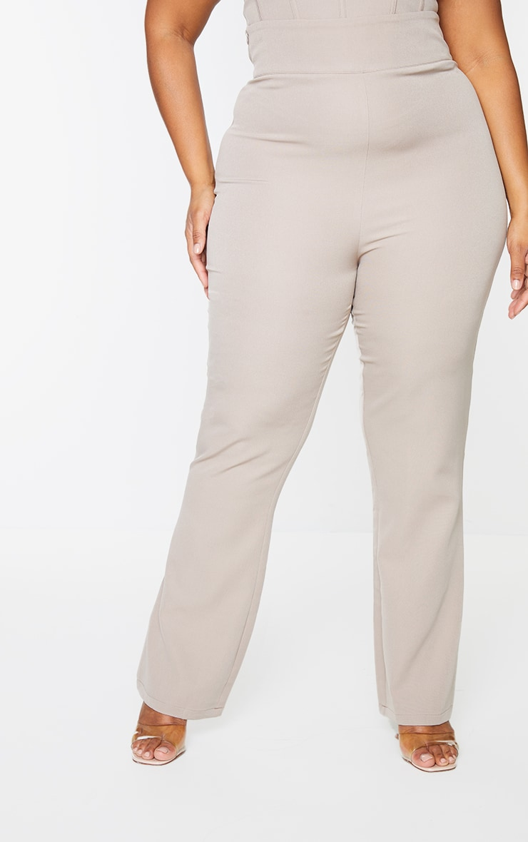 Plus Stone Woven Trousers 2