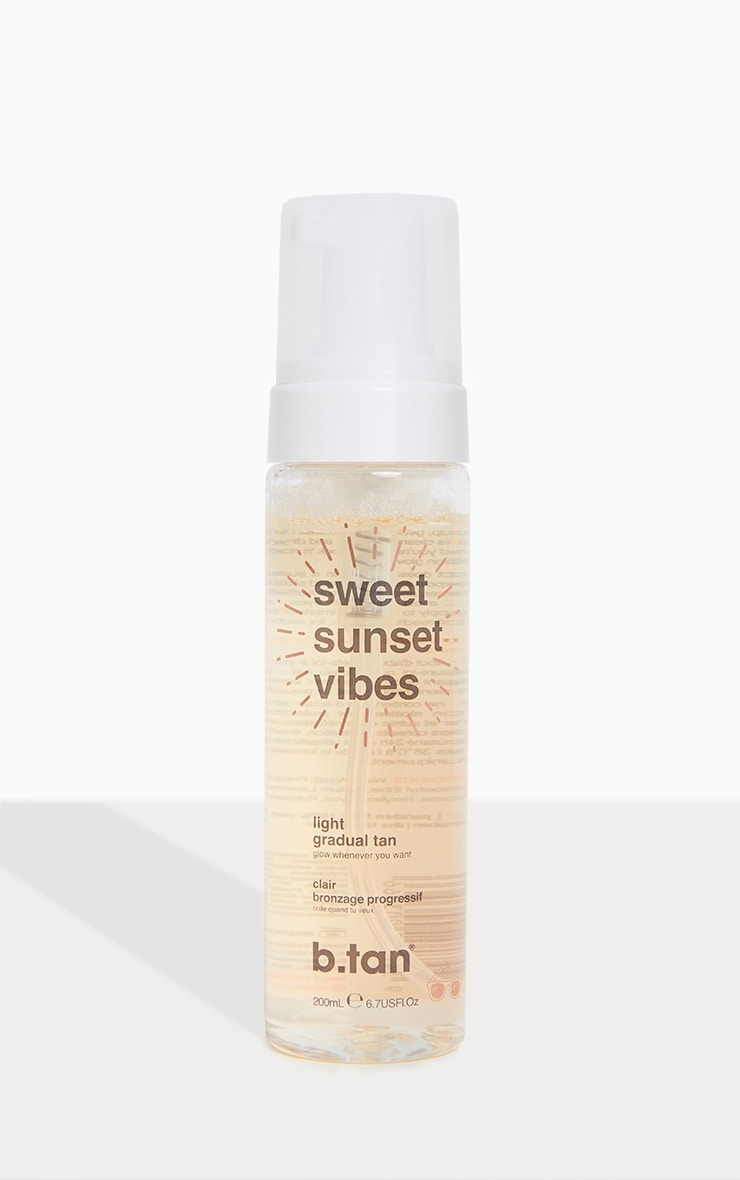 b.tan sweet sunset vibes gradual glow light mousse 1
