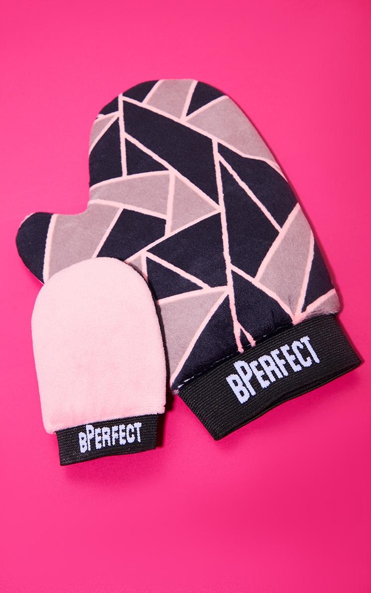 BPerfect Cosmetics Double Velvet Duo Tanning Mitt Set 1