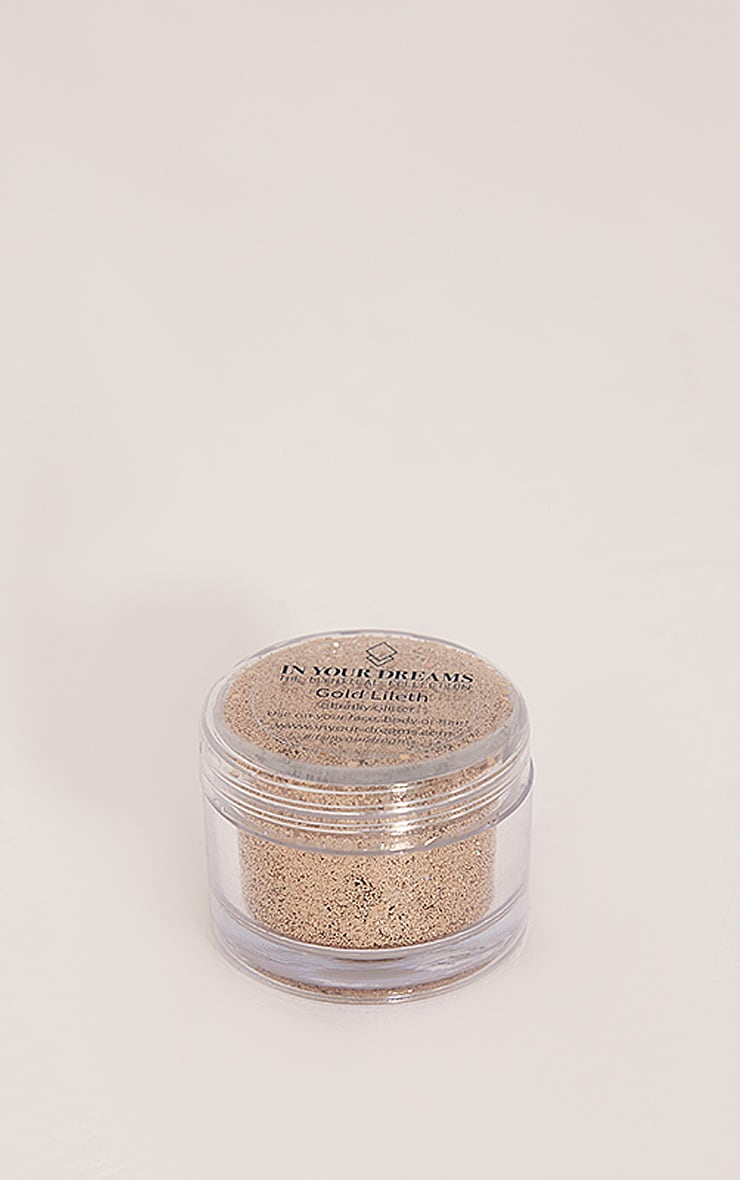 In Your Dreams Gold Lileth Glitter Pot 1